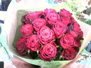 花屋の薔薇