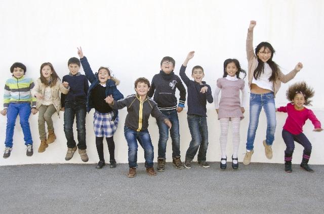 外国人の子供たち