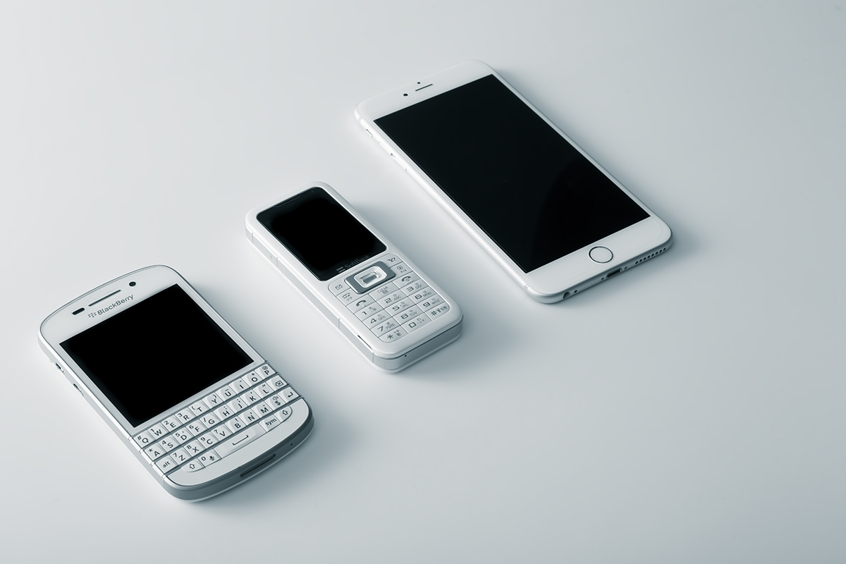 スマートフォンとガラケー