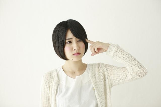疑問に思う日本人女性