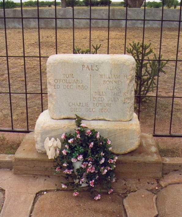 ビリー・ザ・キッドのお墓