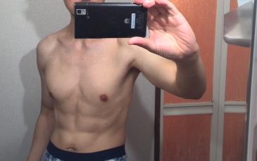 3か月のトレーニング後