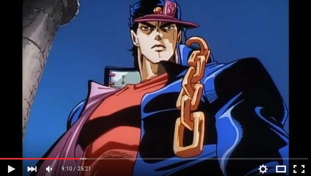 ジョジョのアニメ