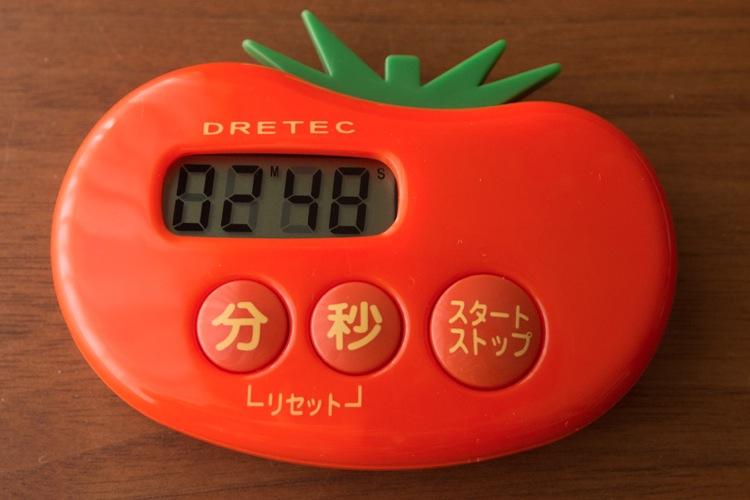トマトのキッチンタイマー