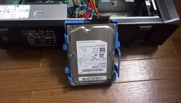 samsungのハードディスク