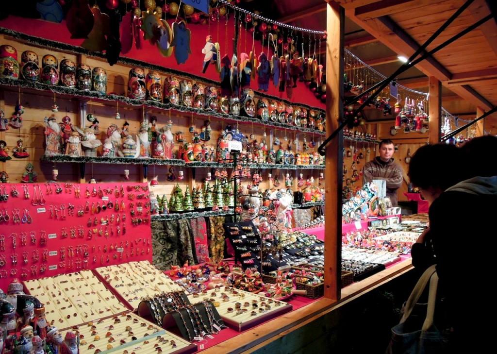 クリスマス ドイツの売店