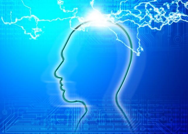 脳みそに電流