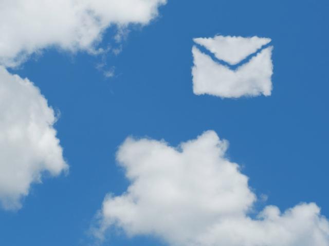 雲のメール