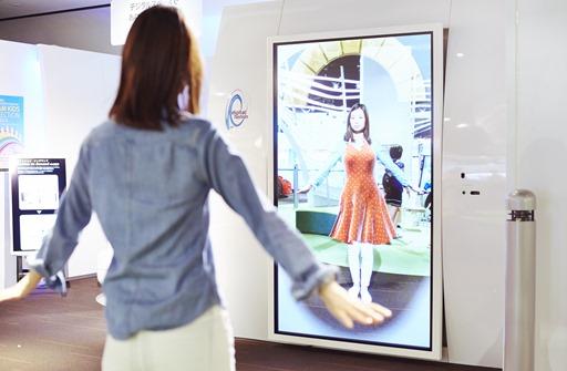 デジタルファッション株式会社の展示技術